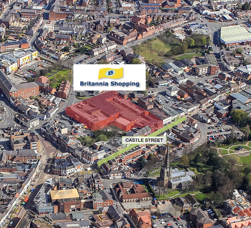 Phillips Sutton appointed as sole agent to market Britannia Shopping Centre in Hinckley