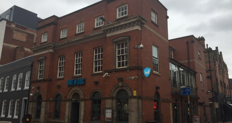 8 Friar Lane, Leicester – Brewdog Investment